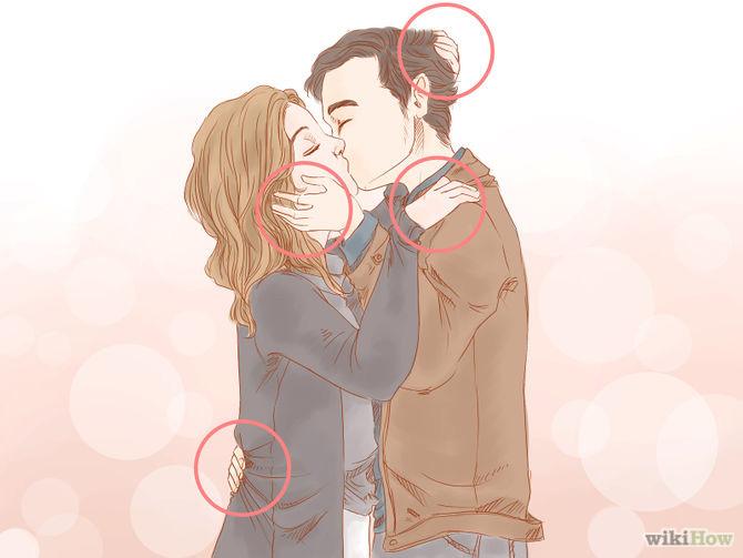 Koristite ruke kod ljubljenja