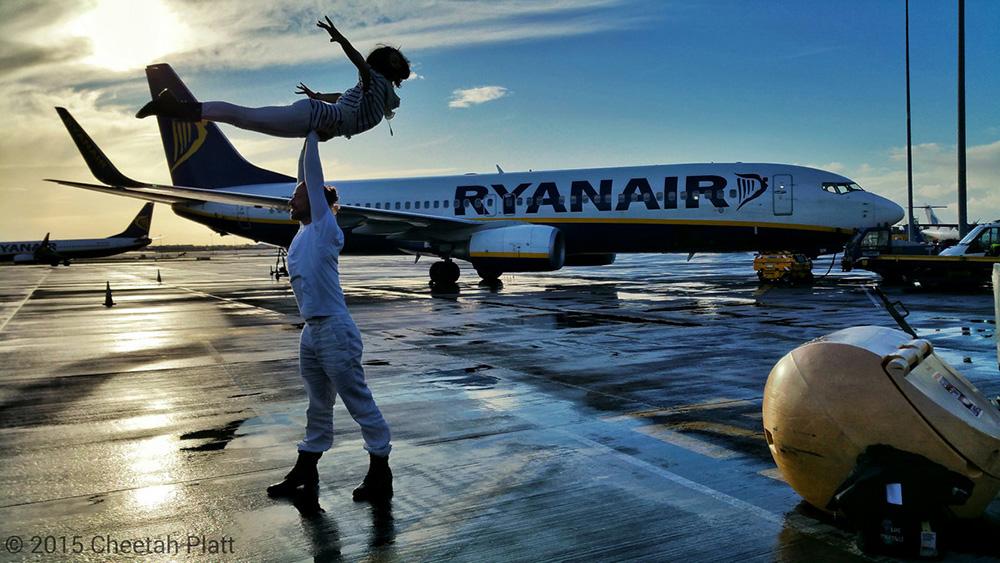 Bračni par Cheetah Platt i Rhian Woodyard u Dublinu u Irskoj