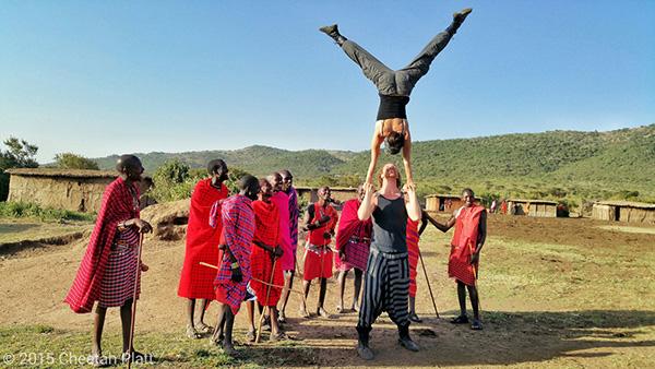 Kenija i pleme Masai