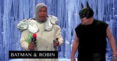 Arnold Schwarzenegger u showu The Late Show with James Corden