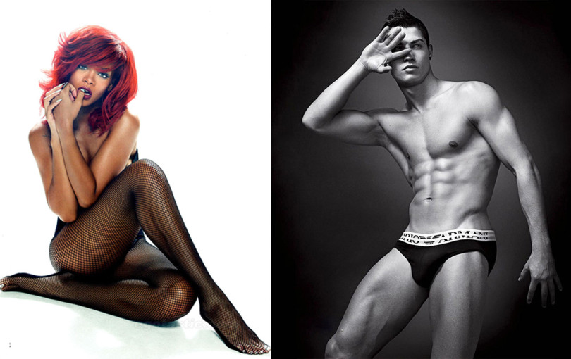 Rihanna i Cristiano Ronaldo
