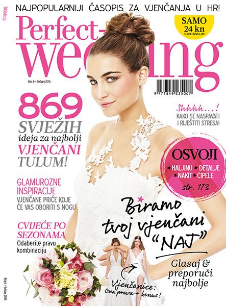 Šesti broj časopisa za vjenčanje Perfect Wedding