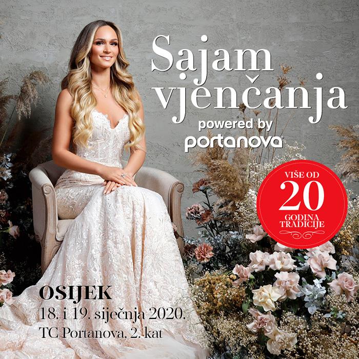 Sajam vjenčanja Osijek 2020 Portanova